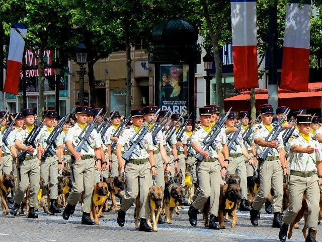 Bastille Day military parade France