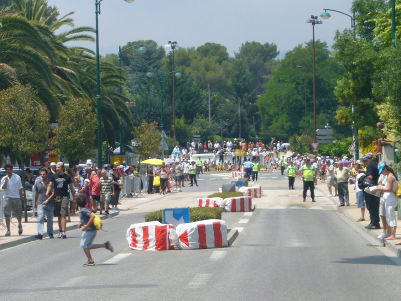 RLP street after TDF