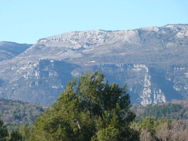 castellas walk view Gourdon