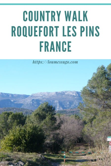 country walk roquefort les pins