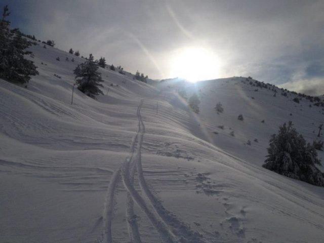 skiing with sea view | Lou Messugo