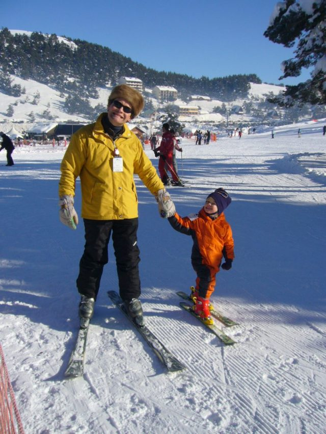 skiing french riviera