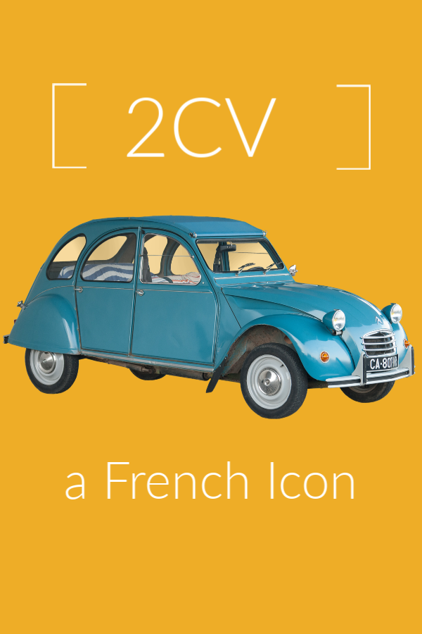 2cv french icon | Lou Messugo