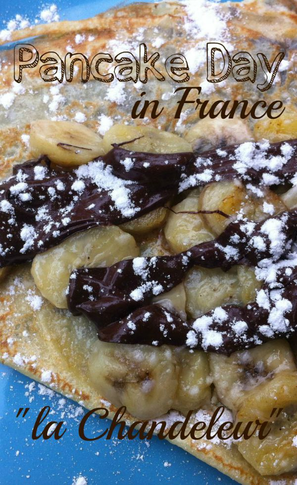 Pancake Day in France is called la Chandeleur