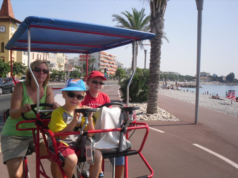 us on cart in cagnes