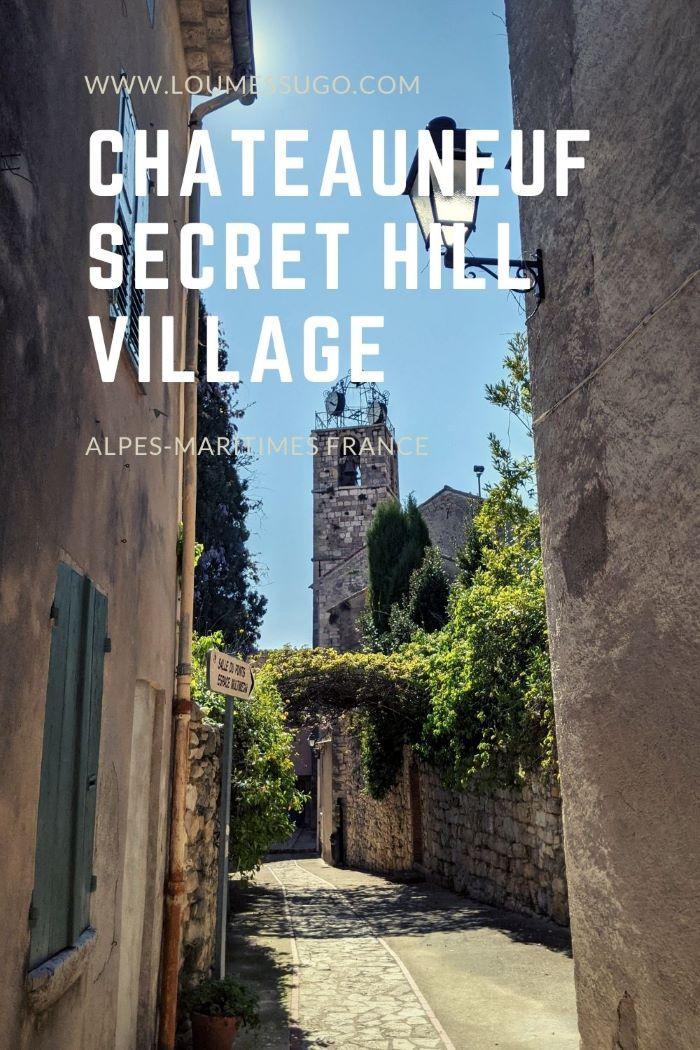 Châteauneuf secret hill village