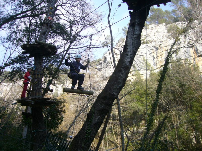 canyon forest villeneuve loubet french riviera