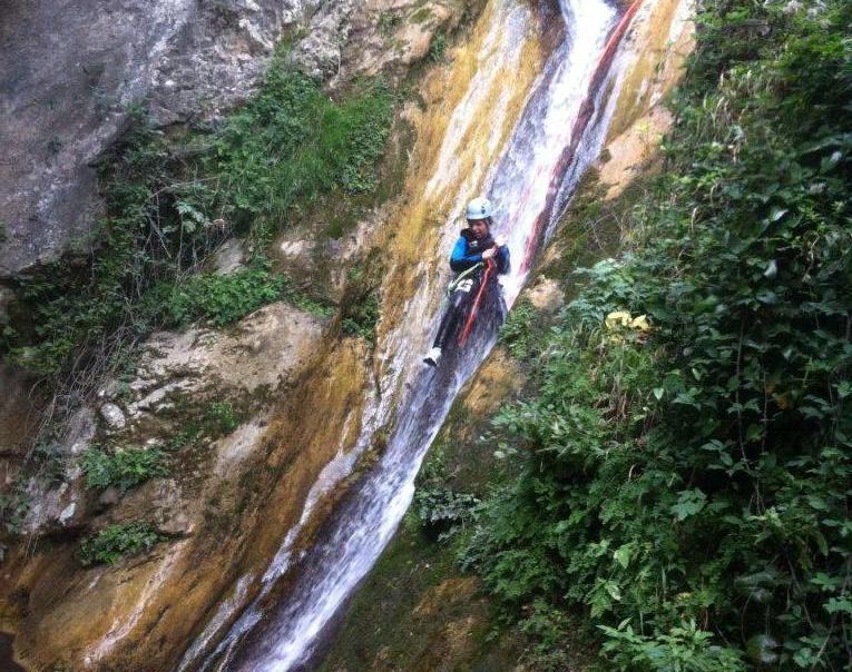 canyoning gorges du loup cote dazur