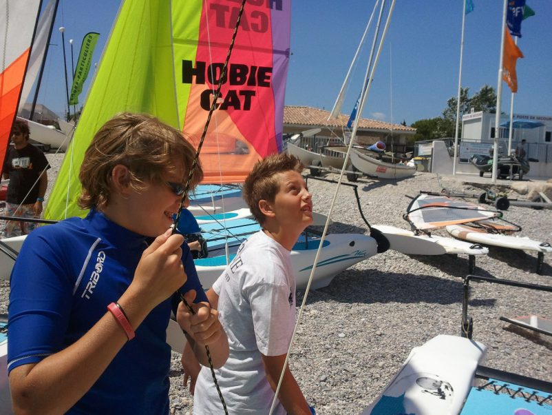 sailing at villeneuve loubet