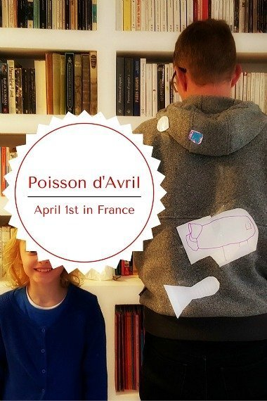 Poisson dAvril 1st April traditions France