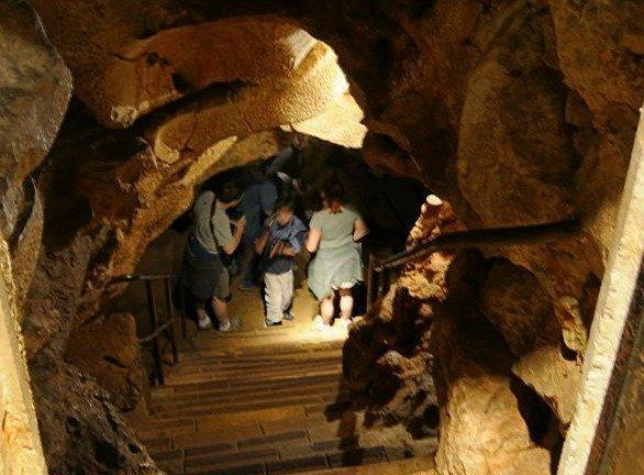 cave St Cezaire near Grasse