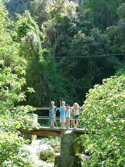 bridge on river cagnes