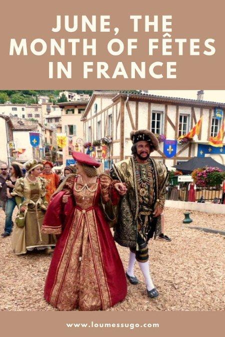 June fêtes in France