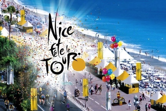 The 100th Tour de France, in the Alpes-Maritimes