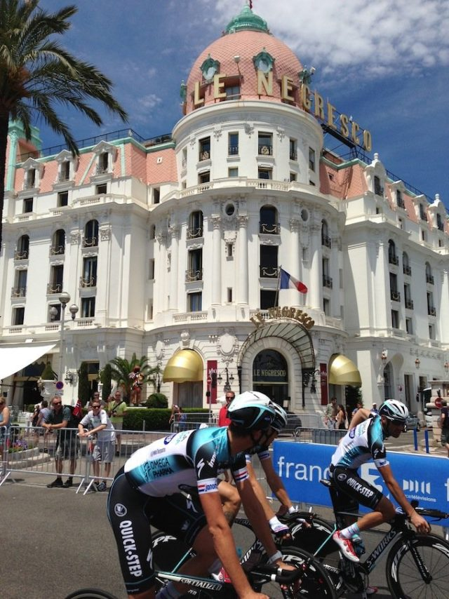 Tour de France Negresco hotel