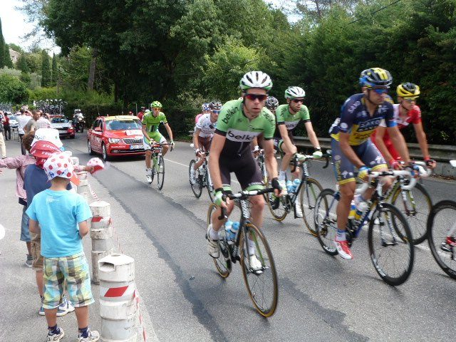 cyclists in Tour de France