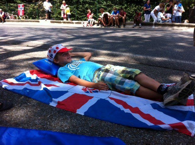 waiting for Tour de France
