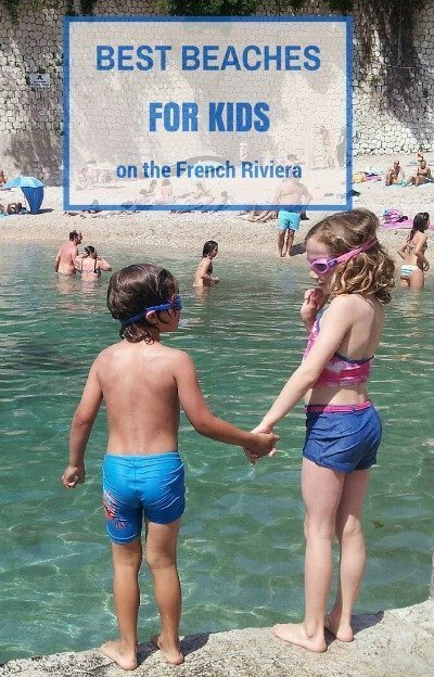 BEST BEACHES for children on Côte d'Azur