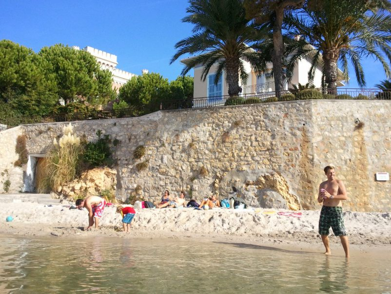 TOP 3 Beaches for Children on the Côte d'Azur