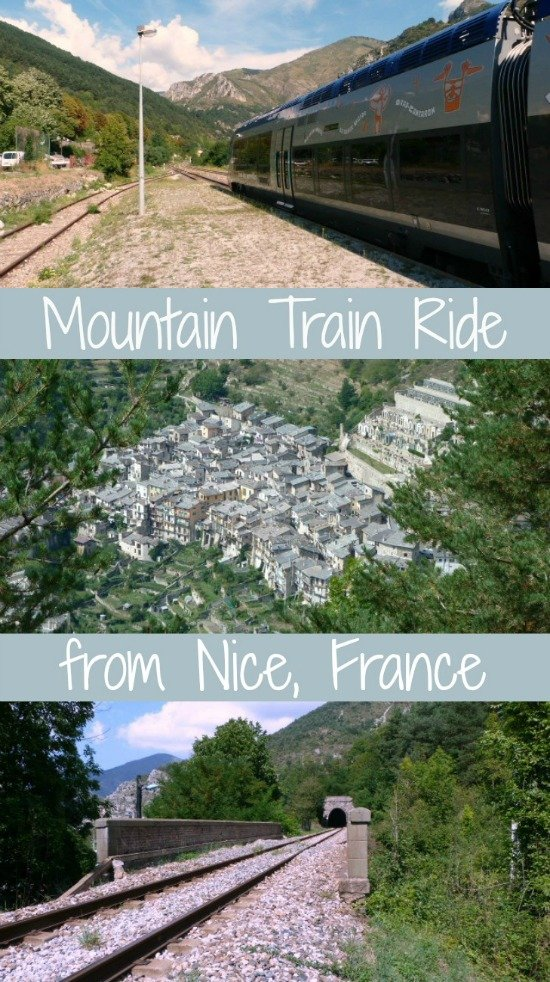 Mountain Train Trip from Nice France