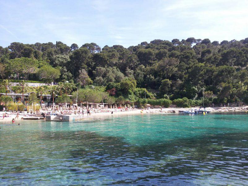 passable beach plage passable St Jean Cap Ferrat near Nice