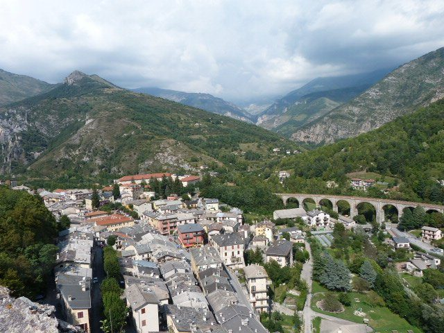 view from mountain train des merveilles