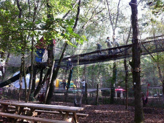 rope walks at adventure park