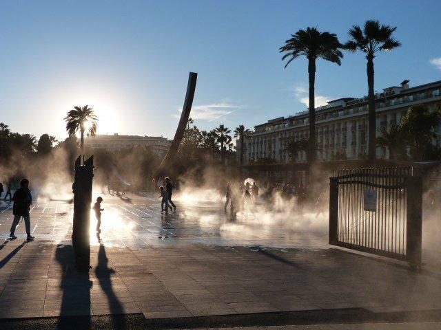 Jardin Albert 1er Promenade Paillon Nice