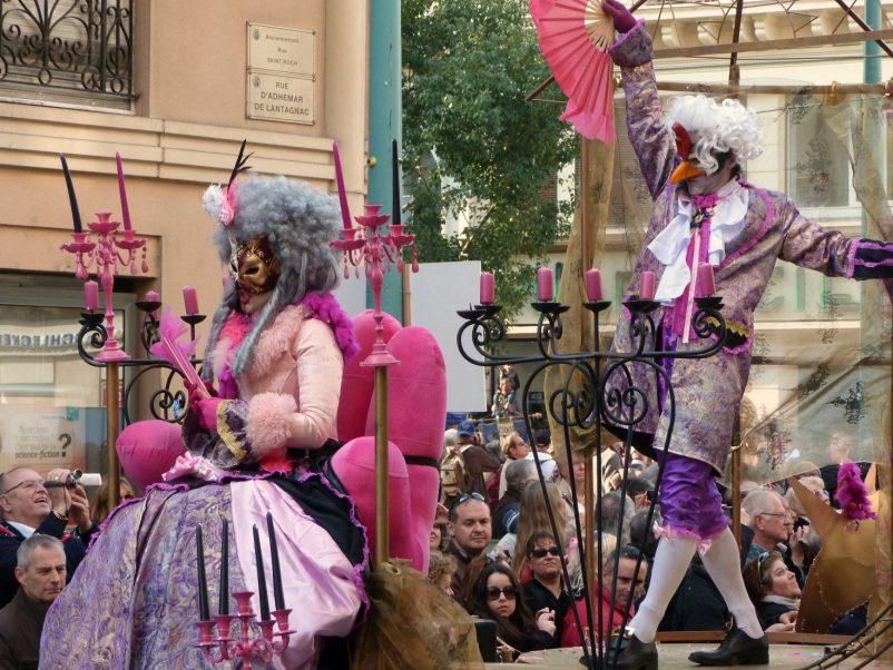 carnival masqueraders