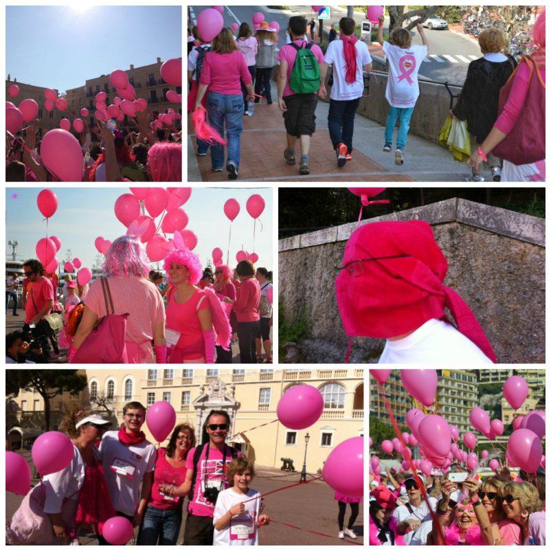 Pink Ribbon Walk Monaco 1
