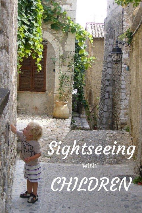 Sightseeing with children