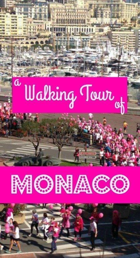 walking tour of Monaco