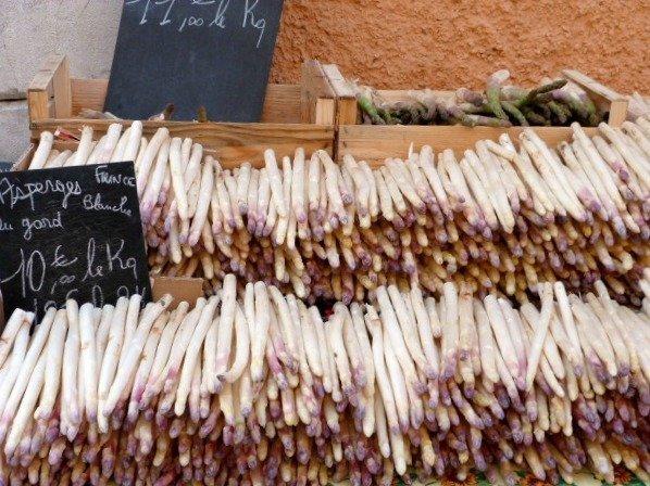 asparagus valbonne market