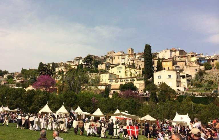 Medieval Festival – Knights Templar on the Côte d'Azur