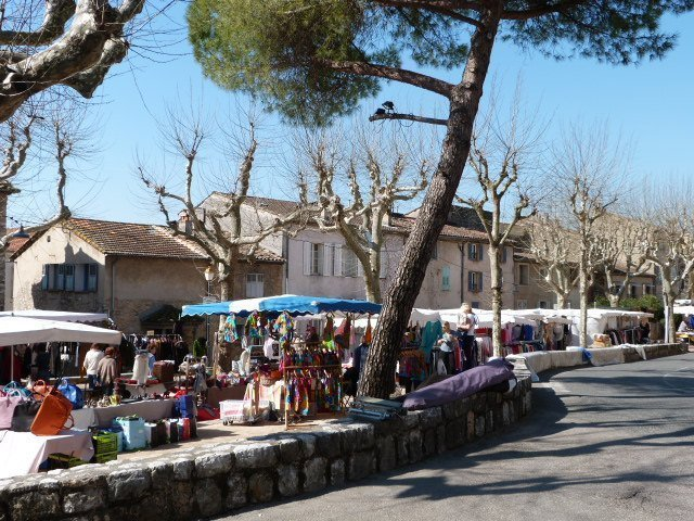 Valbonne market day Provence