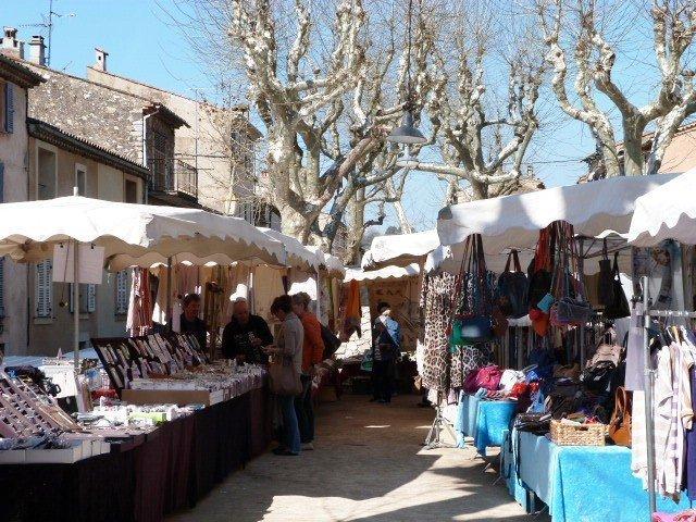 Valbonne market Provence