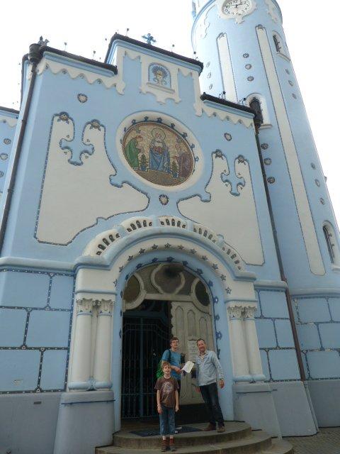 Blue Church Bratislava 4