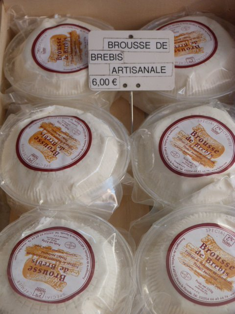 Brousse cheese