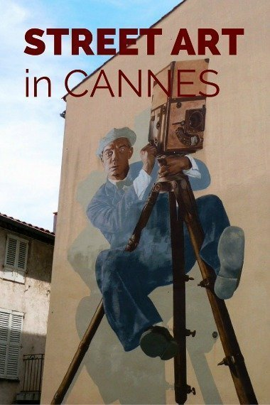 Cannes cinema street art | Lou Messugo