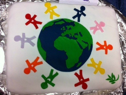 International cake
