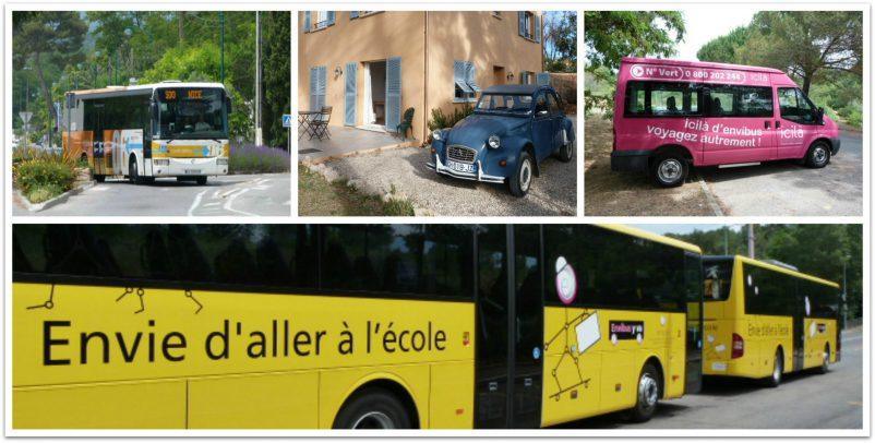 transport collage