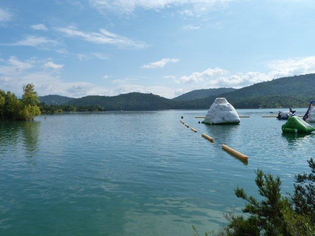 Lac de St Cassien, Provence, France