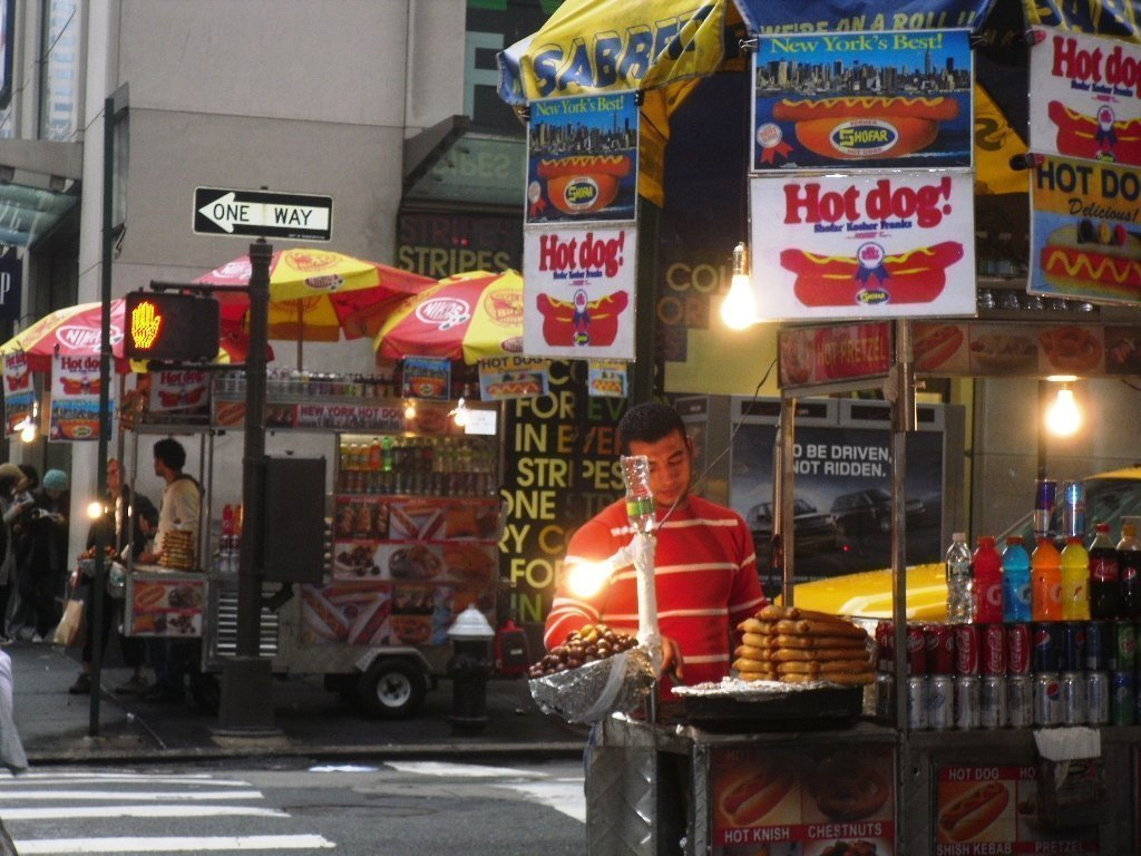 New York hotdogs