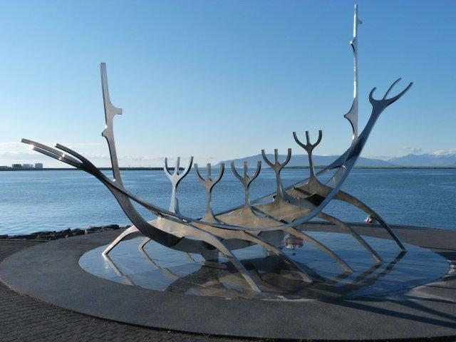 Reykjavik Solfar sculpture