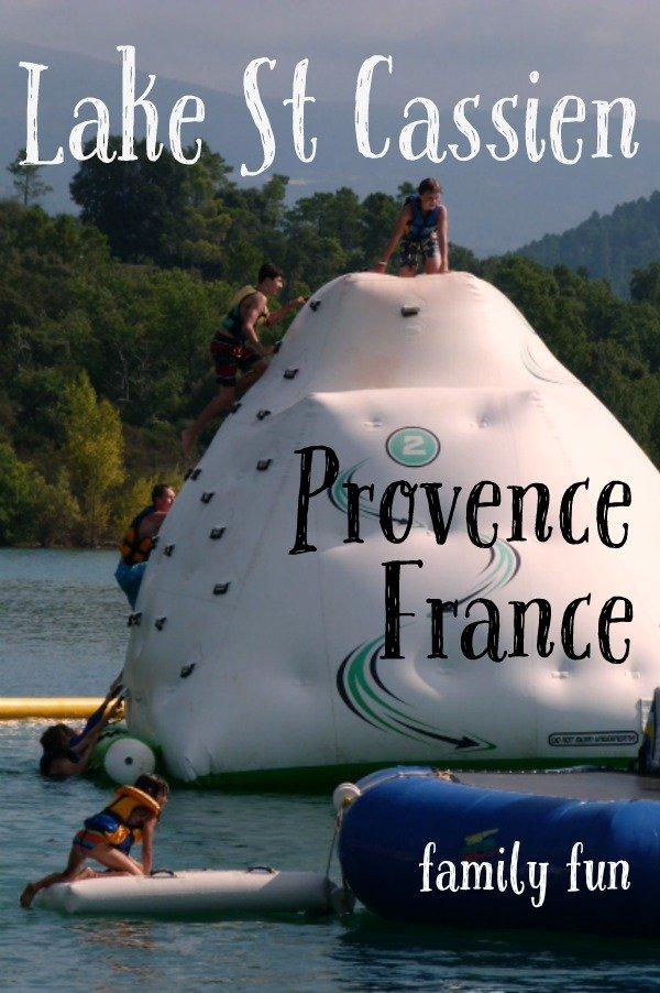 lac st cassien provence france