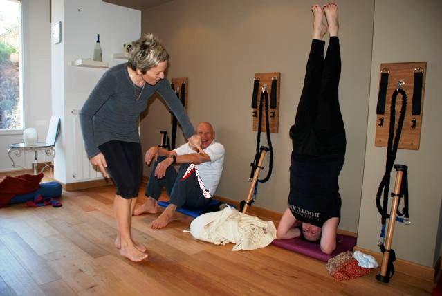 Faye Villalba Yoga class