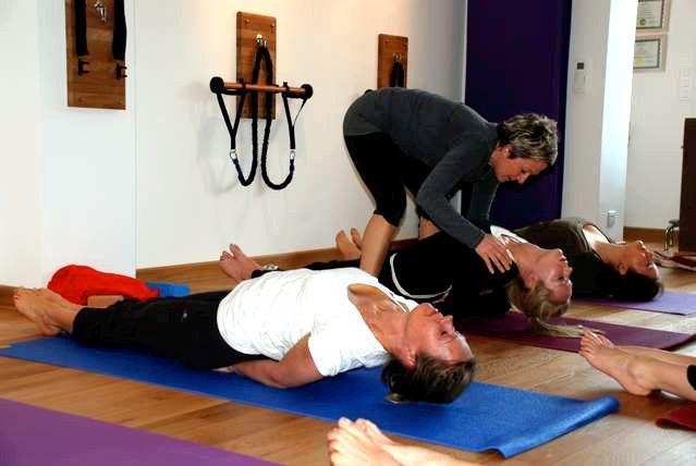 Yoga class with Faye Villalba