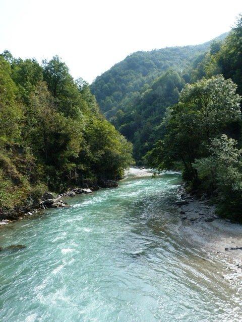 Stura fiume Piemonte Italia
