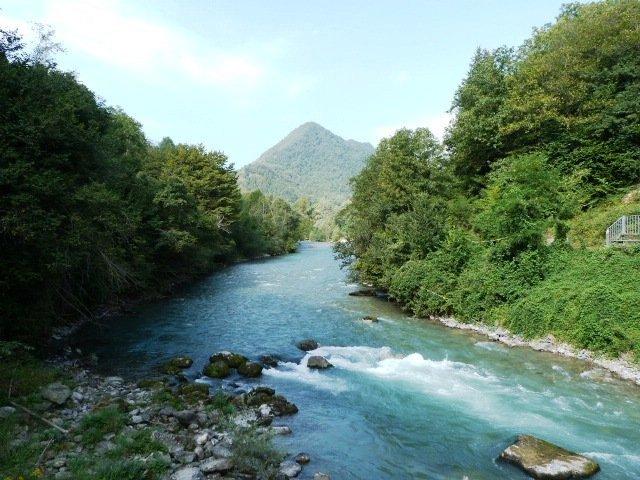 Stura river Piedmont