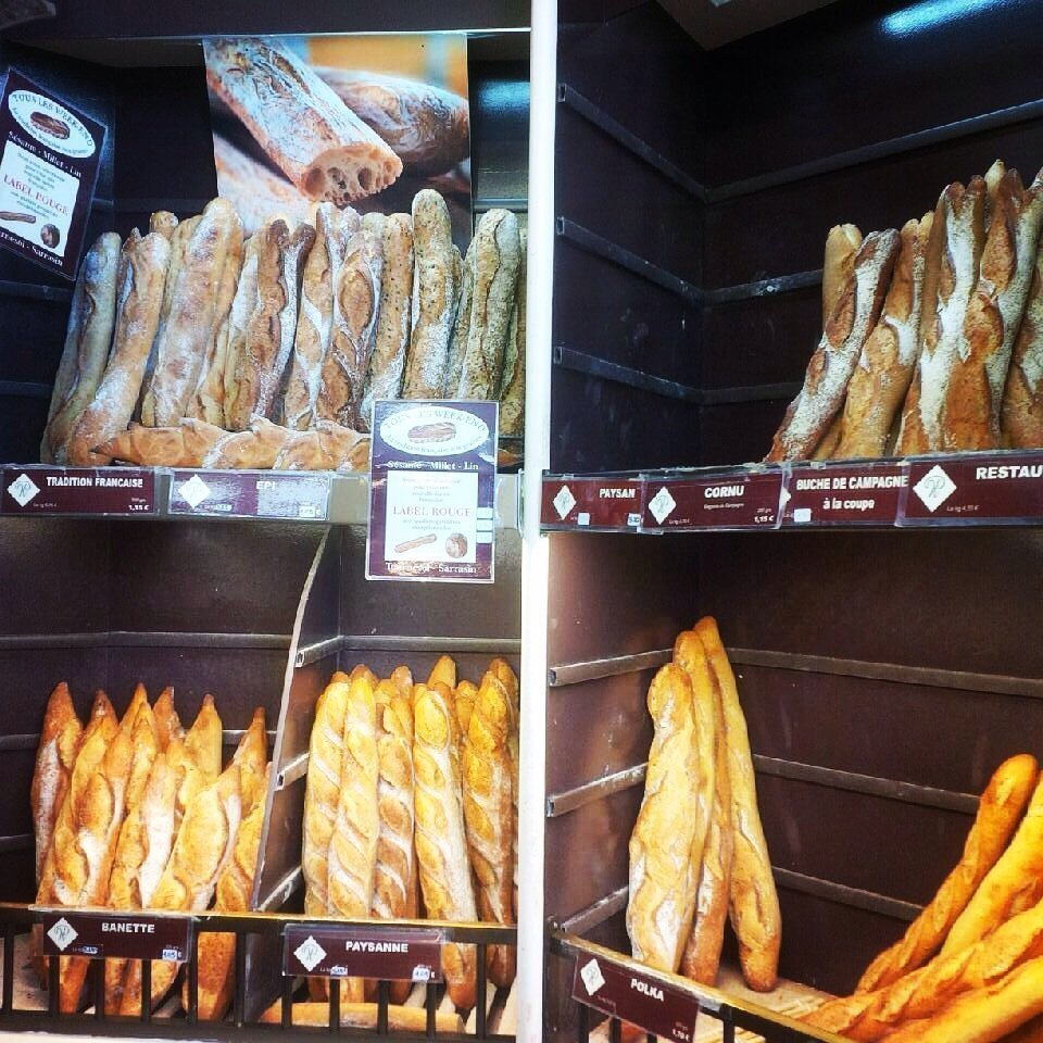 Baguettes boulangerie